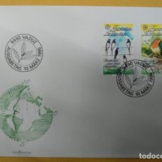 Sellos: LIECHTENSTEIN 1986. EUROPA (C.E.P.T.) 1986 - PROTECTION OF THE ENVIRONMENT. Lote 267240759