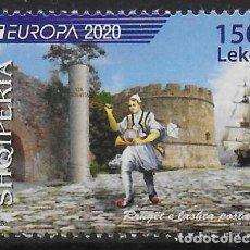 Sellos: ALBANIA 2020 EUROPA CEPT SELLO NUEVO MNH. Lote 268155874