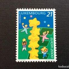 Sellos: LUXEMBURGO Nº YVERT 1456*** AÑO 2000. EUROPA. Lote 268999239