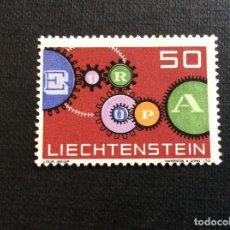 Sellos: LIECHTENSTEIN Nº YVERT 364*** AÑO 1961. EUROPA. Lote 277850488