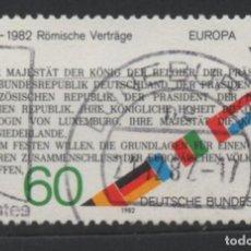 Sellos: ALEMANIA 1982 EUROPA CEPT SELLO USADO * LEER DESCRIPCION. Lote 278268303
