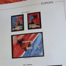 Sellos: TEMA EUROPA AÑOS 2007/2008 COMPLETOS MONTADOS EN HOJAS EDIFIL VER DESCRIPON Y FOTOS. Lote 284310688