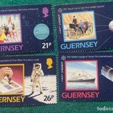 Sellos: GUERNSEY. EUROPA CEPT AÑO 1991. SERIE NUEVA SIN FIJASELLOS. Lote 286729698