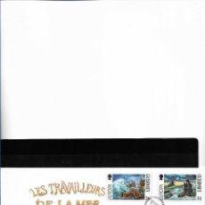Sellos: EUROPA CEPT GUERNSEY 1997, SOBRE PRIMER DÍA DE CIRCULACIÓN, FDC.. Lote 289417558