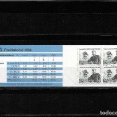 Sellos: EUROPA CEPT DINAMARCA 1994, CARNET TEMA DESCUBRIMIENTOS. MNH.. Lote 289463978