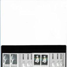 Sellos: EUROPA CEPT DINAMARCA 2003, DOS CARNETS TEMA EL ARTE DEL CARTEL. MNH.. Lote 289464933