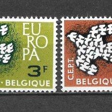 Sellos: BELGICA 1961 SERIE COMPLETA ** MNH EUROPA CEPT - 3/22. Lote 293823028