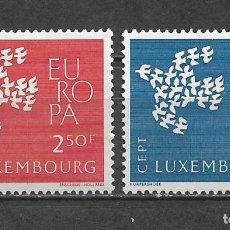 Sellos: LUXEMBURGO 1961 SERIE COMPLETA ** MNH EUROPA CEPT - 3/22. Lote 293823193