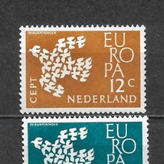 Sellos: HOLANDA 1961 SERIE COMPLETA ** MNH EUROPA CEPT - 3/22. Lote 293823253