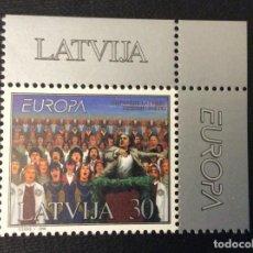 Sellos: LETONIA Nº YVERT 438*** AÑO 1998. EUROPA. FESTIVALES NACIONALES. Lote 294499148