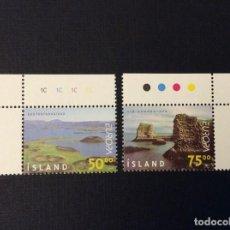 Sellos: ISLANDIA Nº YVERT 866/7*** AÑO 1999. EUROPA. Lote 294500043