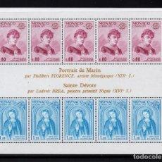 Sellos: MONACO HB 10** - AÑO 1975 - EUROPA - PINTURA. Lote 295340688