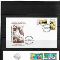 Sellos: EUROPA CEPT 1999, DOS SOBRE PRIMER DÍA FDC DE TURQUIA Y BULGARIA.. Lote 295419738