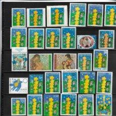 Sellos: EUROPA CEPT 2000, 75 VALORES + 5 HOJAS BLOQUE (INCLUIDO BOSNIA HERZ. SERBIA MNH.. Lote 295424593