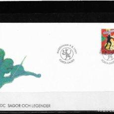 Sellos: EUROPA CEPT ALAND 1997, SOBRE PRIMER DÍA DE CIRCULACIÓN - FDC.. Lote 295426828