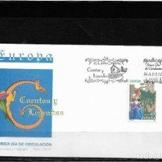 Sellos: EUROPA CEPT ESPAÑA 1997, SOBRE PRIMER DÍA DE CIRCULACIÓN. FDC.. Lote 295429913