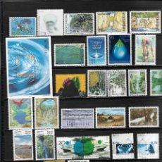 Sellos: EUROPA CEPT AÑO 2001 COMPLETO MÁS HOJAS BLOQUE. MNH.. Lote 295801678