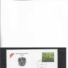 Sellos: EUROPA CEPT AUSTRIA 1999, SOBRE PRIMER DÍA FDC.. Lote 295809018