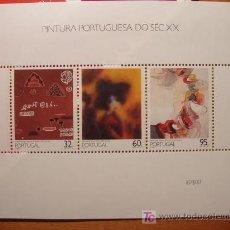 Sellos: PINTURA PORTUGUESA SIGLO XX. Lote 3317915