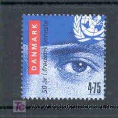 Sellos: DINAMARCA 2007.- 50 AÑOS DE LOS SOLADOS DANESES EN LA ONU. Lote 4804253