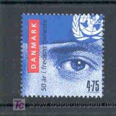 Sellos: DINAMARCA 2007.- 50 AÑOS DE LOS SOLADOS DANESES EN LA ONU. Lote 4804256