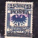 Sellos: ALBANIA 76 USADA, SOBRECARGADO, . Lote 10815600