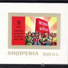 Sellos: ALBANIA HB 31 SIN CHARNELA, 30º ANIVERSARIO DE LA LIBERACION, . Lote 8938680