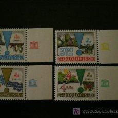 Sellos: CHECOSLOVAQUIA 1979 IVERT 2340/3 *** UNESCO - EL HOMRE Y LA BIOSFERA. Lote 18533973