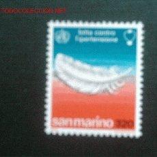 Sellos: SAN MARINO, Nº YVERT 957. AÑO 1978. Lote 1970337