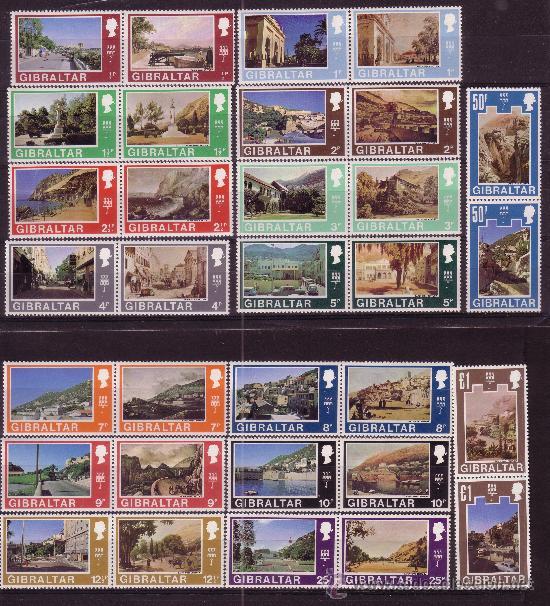 GIBRALTAR 239/70** - AÑO 1971 - GIBRALTAR SIGLO XIX - SIGLO XX (Sellos - Extranjero - Europa - Otros paises)