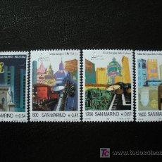 Sellos: SAN MARINO 2000 IVERT 1682/5 *** BOLONIA - CIUDAD EUROPEA DE LA CULTURA - MONUMENTOS. Lote 18416805