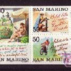 Sellos: SAN MARINO CARNET 1289*** - AÑO 1992 - TURISMO EN SAN MARINO. Lote 19331938