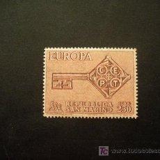 Sellos: SAN MARINO 1968 IVERT 720 *** EUROPA. Lote 14411780