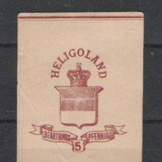 Sellos: PRECIOSA PIEZA MUY RARA DE HELIGOLAND. Lote 16431384