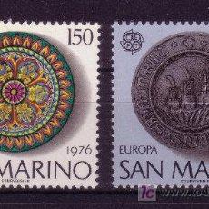 Sellos: SAN MARINO.- YVERT 923/24 TEMA EUROPA DE 1976 TOTALMENTE NUEVA . Lote 15119937