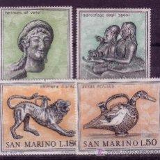 Sellos: SAN MARINO.- YVERT 787/90 ARTE EN MUSEOS TOTALMENTE NUEVA . Lote 15119951