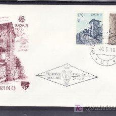 Sellos: SAN MARINO 955/6 PRIMER DIA, TEMA EUROPA, MONUMENTOS, . Lote 16781141