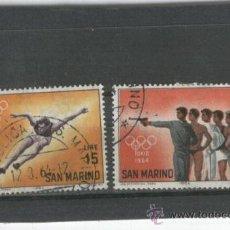 Sellos: LOTE.SELLOS. ANTIGUOS. SAN MARINO. JUEGOS OLIMPICOS.OLIMPIADAS. TOKIO 1964. . Lote 19038414