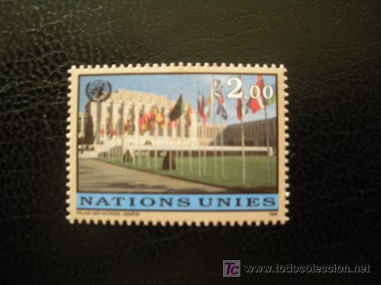 NACIONES UNIDAS GINEBRA 1998 IVERT 348 *** SERIE BÁSICA - BANDERAS PAISES MIEMBROS PALACIO ONU (Sellos - Extranjero - Europa - Otros paises)