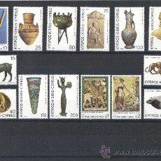 Sellos: CHIPRE - 1980 ( MI - 525 - 38 ) ( NUEVOS ) ARQUEOLOGIA . Lote 22263945