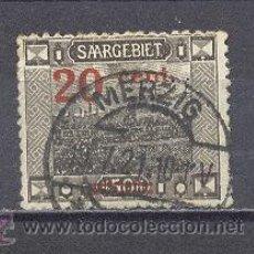 Sellos: SARRE- 1921- YVERT TELLIER 73- SOBRECARGADO. Lote 22796286