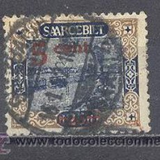 Sellos: SARRE- 1921- YVERT TELLIER 70- SOBRECARGADO. Lote 22796293