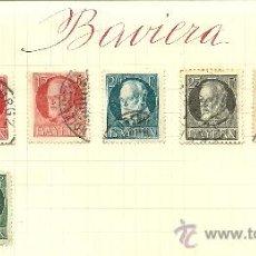 Sellos: (SE-27)LOTE DE SELLOS DE BAVIERA. Lote 22805322
