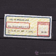 Sellos: ATM REPUBLICA CHECA 2005 USADO. Lote 22981545