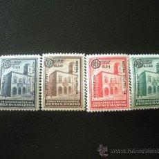 Sellos: SAN MARINO 1934 IVERT 180/3 ** EXPOSICIÓN FILATELICA DE MILAN - MONUMENTOS. Lote 23853165