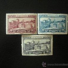 Sellos: SAN MARINO 1927 IVERT 134/6 * MONUMENTO A LOS VOLUNTARIOS DE LA GUERRA. Lote 23853249