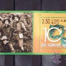 Sellos - ucrania 781/2 carnet sin charnela, tema europa, scouts - 123535867
