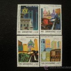 Sellos: SAN MARINO 2000 IVERT 1682/5 *** BOLONIA - CIUDAD EUROPEA DE LA CULTURA - MONUMENTOS. Lote 24204942