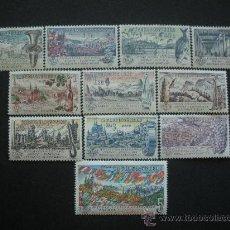 Sellos: CHECOSLOVAQUIA 1961 YVERT 1172/82 *** EXPOSICIÓN INTERNACIONAL DE FILATÉLIA - PRAGA 62 - PAISAJES. Lote 24302240