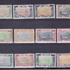 Sellos: MONTENEGRO 30/41 CON CHARNELA, BICENTENARIO LLEGADA DE LA DINASTIA REINANTE. Lote 38936887
